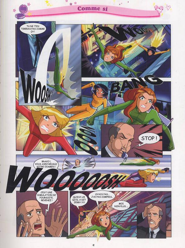 Serie totally spies aladin une librairie du r seau canal bd - Comment dessiner les totally spies ...
