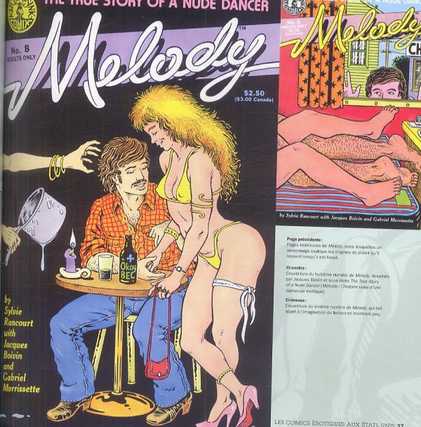 Art de bande dessinée porno