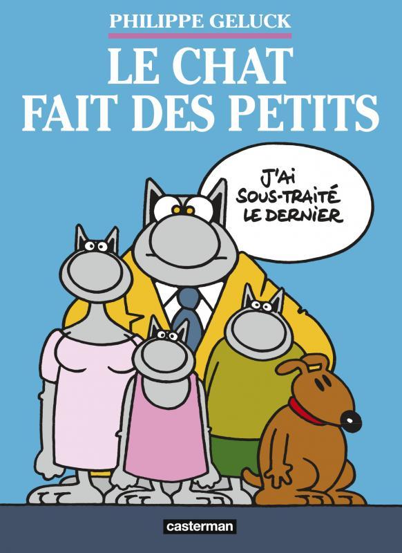 Le Chat Fait Des Petits Coffret 3 Volumes Philippe