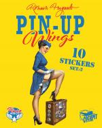 Rayon : Papeterie BD, Série : Pin-Up Wings T2, Pin-Up Wings (Stickers)