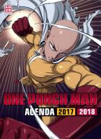 Rayon : Papeterie BD, Série : One-Punch Man (Agenda), One-Punch Man : Agenda 2017-2018