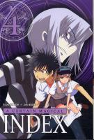 Rayon : Manga (Shonen), Série : A Certain Magical Index T4, A Certain Magical Index