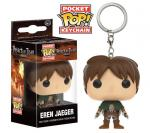 Rayon : Objets, Série : L'Attaque des Titans, Pocket Pop! Keychain : Attack on Titan : Eren Jaeger