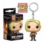 Rayon : Objets, Série : L'Attaque des Titans, Pocket Pop! Keychain : Attack On Titan : Annie Leonhart