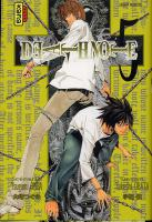 Rayon : Manga (Seinen), Série : Death Note T5, Death Note