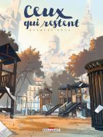 Ceux qui restent, de Busquet et Xoul ( Delcourt )  9782756052625_cp
