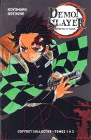 Rayon : Manga (Shonen), Série : Demon Slayer, Demon Slayer (Coffret Tomes 1 à 3)