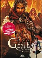 Rayon : Albums (Heroic Fantasy-Magie), Série : La Geste des Chevaliers Dragons T11, Pack Tome 11 + Figurine Collector