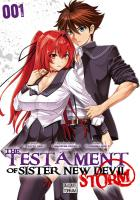 Rayon : Manga (Shonen), Série : The Testament of Sister New Devil : Storm T1, The Testament of Sister New Devil : Storm
