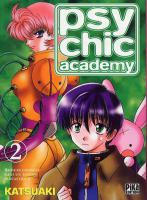 Rayon : Manga (Shonen), S�rie : Psychic Academy T2, Psychic Academy
