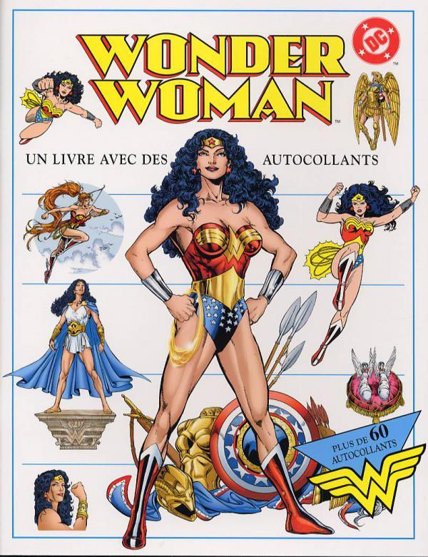 Extrêmement Wonder Woman (Livre avec Autocollants) - (Collectif) - Super Héros  AG04