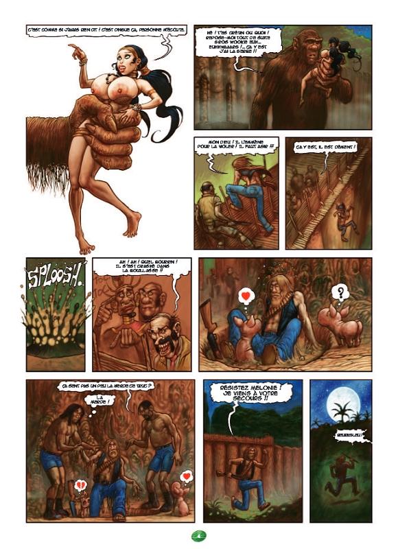 monstre Cartoon photos de sexe