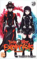 Rayon : Manga (Shonen), Série : Twin Star Exorcists T21, Twin Star Exorcists