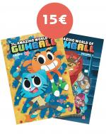 Rayon : Comics (Comédie), Série : The Amazing World of Gumball, The Amazing World of Gumball (Pack Découverte Tomes 1 & 2)