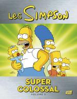 Rayon : Comics (Comédie), Série : Les Simpson Super Colossal T1, Super Colossal