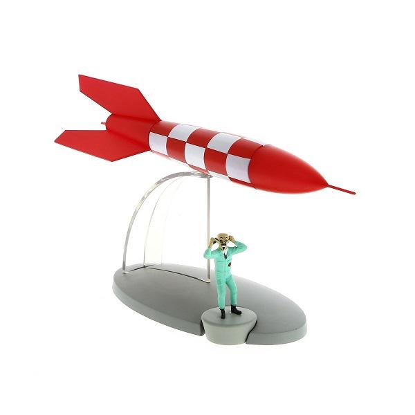 En Avion Tintin 41 La Fusée X Flr6 Canal Bd
