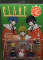 Rayon : Manga (Shojo), Série : Clamp Anthology T5, Clamp Anthology (Ed Limitée)