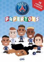 Rayon : Objets, Série : Paris Saint-Germain, Paris Saint-Germain : Papertoys