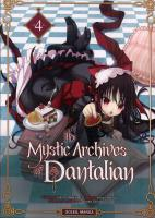 Rayon : Manga (Gothic), Série : The Mystic Archives of Dantalian T4, The Mystic Archives of Dantalian