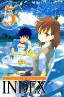Rayon : Manga (Shonen), Série : A Certain Magical Index T5, A Certain Magical Index