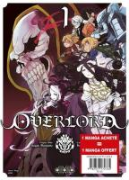 Rayon : Manga (Seinen), Série : Overlord, Overlord (Pack Découverte Tomes 1 & 2)