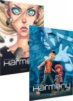 Rayon : Albums (Science-fiction), Série : Harmony, Harmony (Pack Découverte Tomes 1 & 2)