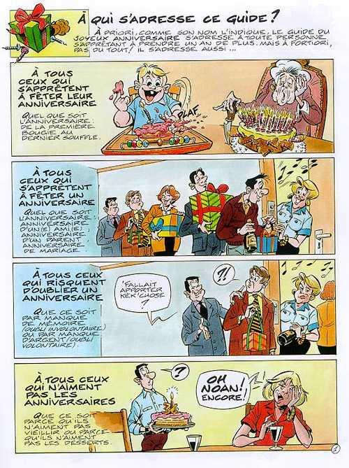 Guide Du Joyeux Anniversaire Tepaz Bertrand Meunier Humour