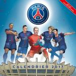 Rayon : Papeterie BD, Série : Paris Saint-Germain, Paris Saint-Germain : Calendrier 2017