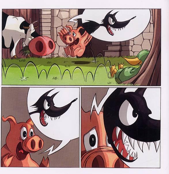 Serie Le Cochon Qui Crie Au Loup Bulles En Tete Une Librairie Du