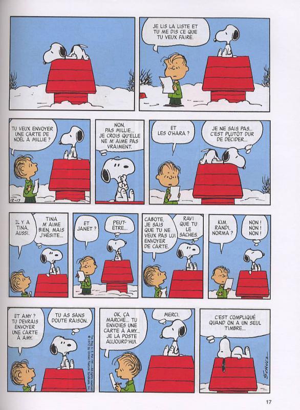 Joyeux Noel Charles M Schulz Humour La Planete Dessin Une