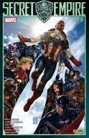Rayon : Comics (Super Héros), Série : Secret Empire T4, Secret Empire (4/5) (Couverture 1/2)
