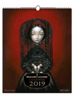 Rayon : Papeterie BD, Série : Benjamin Lacombe, Benjamin Lacombe : Calendrier 2019