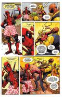 Rayon : Comics (Super Héros), Série : All-New Deadpool (Série 2) T3, Décharge Éclectique