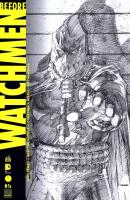 Rayon : Comics (Super Héros), Série : Before Watchmen T1, Before Watchmen (Couverture B)