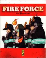 Rayon : Manga (Shonen), Série : Fire Force, Fire Force (Coffret Tomes 1 à 5 + Thermos)