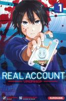 Rayon : Manga (Shonen), Série : Real Account T1, Real Account