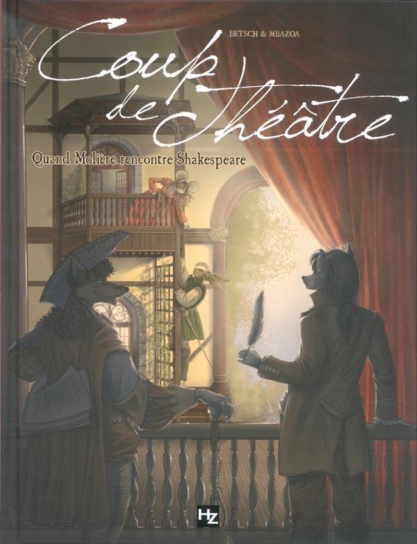 Coup de théâtre - Quand Molière rencontre Shakespeare sur Bookys