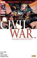 Rayon : Comics (Super Héros), Série : Secret Wars : Civil War T1, Pourparlers (Couverture 1/2)