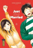 Rayon : Manga (Seinen), Série : Just not Married T3, Just not Married