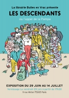 "Affiche Exposition ""Les descendants"""