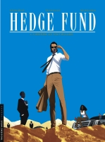 Affiche P. HENAFF dédicace HEDGE FUND