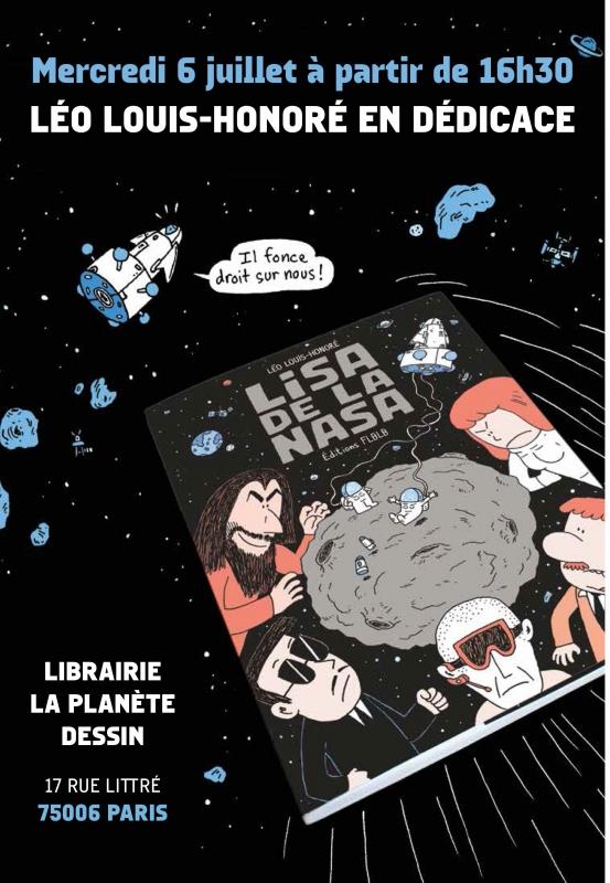 L événement Dédicace Lisa De La Nasa Léo Louis Honoré