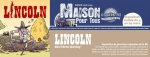 "Affiche EXPOSITION ""LINCOLN"""