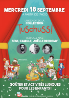 Affiche Lancement de la Collection Tuschuss !