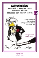Affiche Bézian is back...!