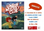 Affiche Yannick ROBERT - London Mystery Club