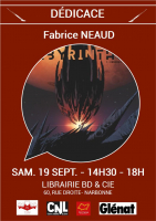 Affiche Fabrice NEAUD - Labyrinthus T.1