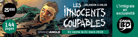 Les Innocents Coupables : Exclusivité Canal BD