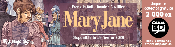 Mary Jane : Jaquette Canal BD