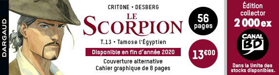 Le Scorpion T.13 : Tirage Canal BD